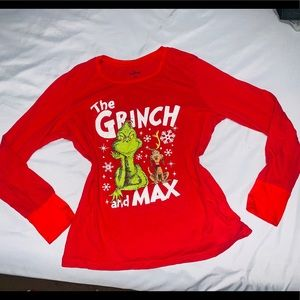 The Grinch and Max Red Long Sleeve Shirt